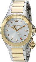 Juicy Couture Women's 1901525 RIO Analog Display Quartz Two Tone Watch