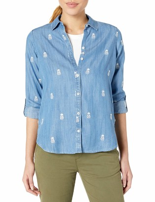 Foxcroft Women's Button Up