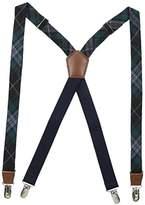 Dockers 1 Inch Plaid Suspenders