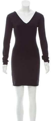 The Row Long Sleeve Knit Dress