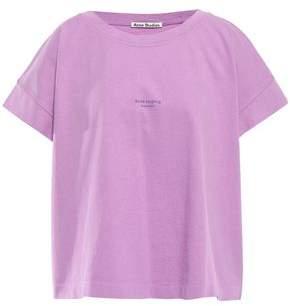Acne Studios Tohnek Printed Cotton-jersey T-shirt