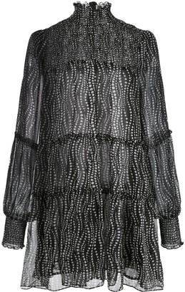 Cinq à Sept Rika daisy chain print dress