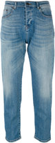 No.21 faded cropped jeans - women - Cotton/Polyester/Spandex/Elastane - 26