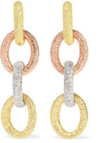 Carolina Bucci Huggy 18-karat Gold Earrings