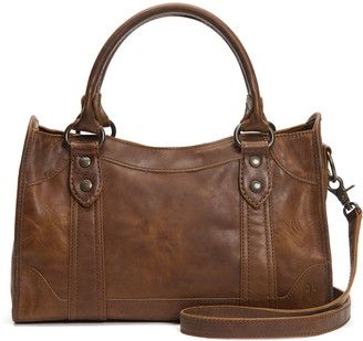 Frye Melissa Leather Satchel Bag