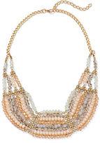 New York & Co. Beaded Bib Necklace