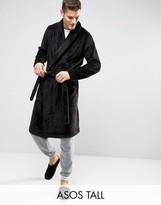 Asos TALL Fleece Shawl Neck Robe