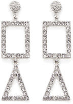 Warehouse Square Drop Statement Earring