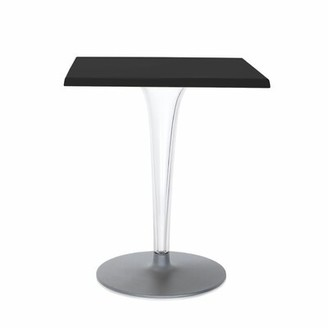 Kartell Top Top Plastic/Resin Bar Table Color: Black