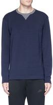 Falke Sports Zip outseam performance long sleeve T-shirt