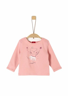 S'Oliver Baby Girls' 65.911.31.7708 Long Sleeve Top