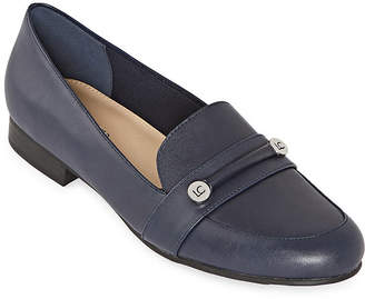 Liz Claiborne Womens Trish Closed Toe Slip-On Shoe