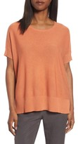 Eileen Fisher Women's Tencel & Merino Wool Top