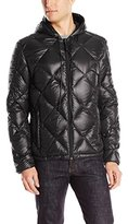 Andrew Marc Men's Irvington Packable Down Hooded Jacket