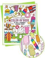 Color-in' Book: Happy Snacks
