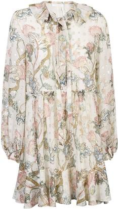 Chloé ChloA All-over Print Dress
