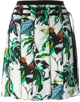 Proenza Schouler pleated floral skirt