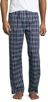 Derek Rose Plaid Pajama Pants, Burgundy/Navy