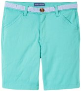 Andy & Evan Twill Shorts (Toddler/Kid) - Light Green 2T
