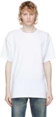 John Elliott White Classic University T-Shirt