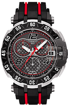 Tissot T0924172720700 T-race Motogp 2016 Chronograph Date Rubber Strap Watch, Black
