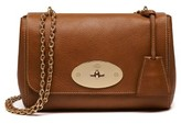 Mulberry Lily Convertible Leather Crossbody Clutch - Brown