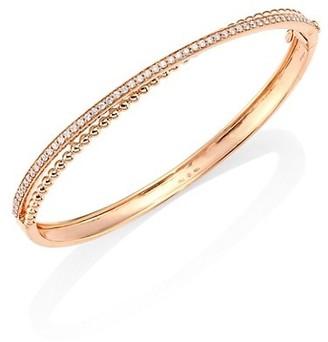 Hueb Bubbles Diamond & 18K Rose Gold Bangle Bracelet