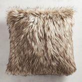 Pier 1 Imports Faux Fur Wolf Pillow