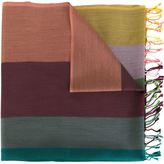 Paul Smith striped scarf - men - Silk/Cotton - One Size