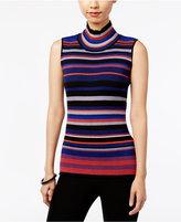 ECI Sleeveless Mock-Turtleneck Sweater