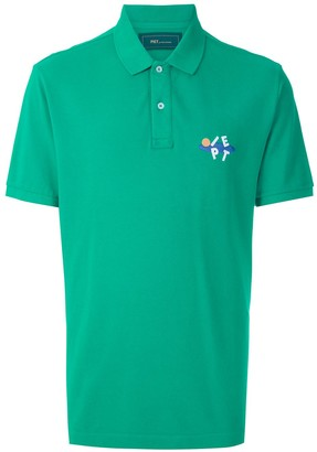 Piet Logo-Embroidered Short-Sleeved Polo Shirt