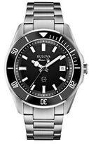 Bulova Men's Sport Marine Star Stainless Steel Watch - 98B203