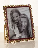 """Jay Strongwater Bejeweled Frame Brocade, 8"""" x 10"""""""