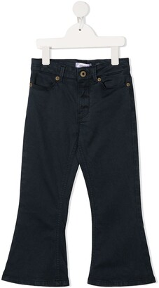 Dondup Kids Five-Pocket Flared Jeans