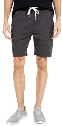 Psycho Bunny Norwich Shorts (Heather Anthracite) Men's Casual Pants
