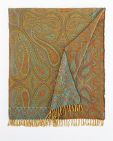 Sabira Feroza Boiled-Wool Throw