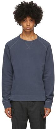 Officine Generale Navy Camille Crewneck Sweatshirt