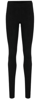 STOULS Carolyn suede leggings
