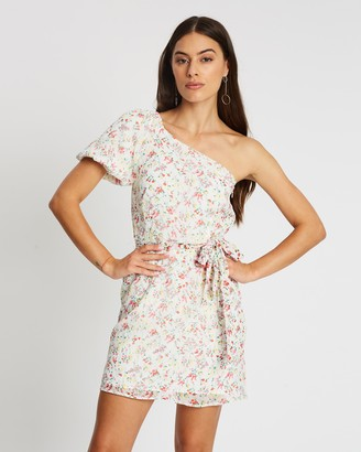 Atmos & Here London Asymmetric Mini Dress