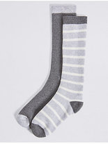 Marks and Spencer 2 Pack of FreshfeetTM Socks (12 Months - 10 Years)