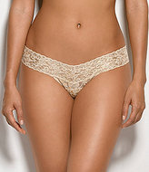 Hanky Panky Golden Leopard Low-Rise Lace Thong