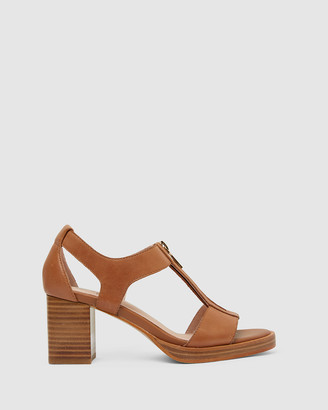 Jane Debster - Women's Brown Heeled Sandals - Abigail - Size One Size, 38 at The Iconic
