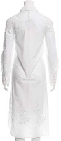 Suno Cold Shoulder Eyelet Dress w/ Tags