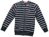 U.S. Polo Assn. Girls Striped Hoodie