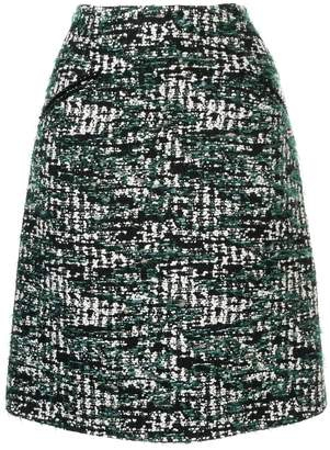 Anteprima tweed A-line skirt