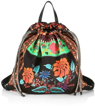 Etro Drawstring Backpack