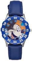 Disney Disney's Mickey Mouse Boys' Leather Watch