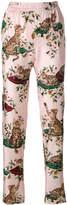 Dolce & Gabbana cat print trousers