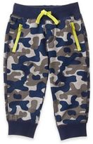 Gymboree Pull-On Camo Jogger Pant in Grey/Navy