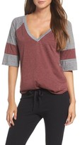 Chaser Women's Colorblock Jersey Tee